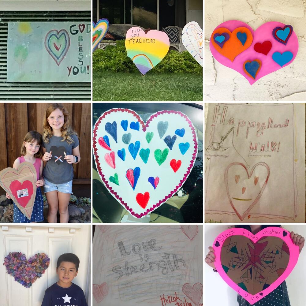 hearts and kids